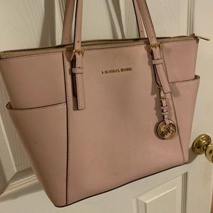 Blush /Light Pink Micheal Kors Tote